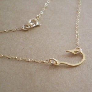 Image of Fish Hook Necklace