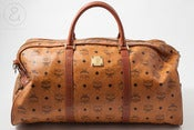 Image of MCM duffle Bag monogram Cognac :: Vintage Bags/Travel