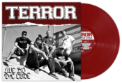 Image of Terror &quot;Live By The Code&quot; LP Oxblood Vinyl