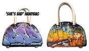 Image of 'She's Bad' Mini Bowling Bag
