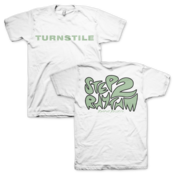 "Image of Turnstile ""Step To Rhythm"" White TS"