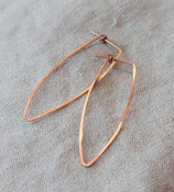 Image of Rose Gold Earrings