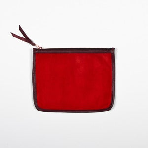 Image of NECESSAIRE - Red and Plum