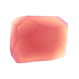 Image of Soap Stones by PELLE: Rose Quartz/Grapefruit Rock 10oz