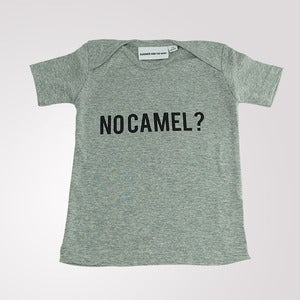 Image of No Camel? T shirt Grey