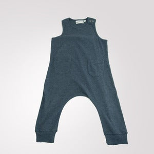 Image of Jumpsuit Dark Blue Grey