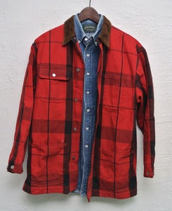 Image of Ralph Lauren vintage plaid jacket (S)