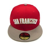 "Image of SF GIANTS ""NINERS ARCH"" NEW ERA FITTED (EXCLUSIVE)"