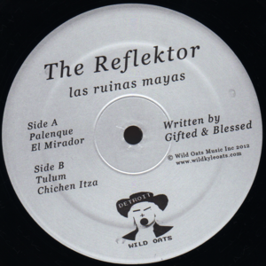 Image of GB aka The Reflektor - Las Ruinas Mayas (Black Vinyl Record)