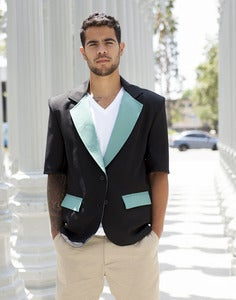 Image of Short Sleeve Blazer