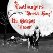 Image of The Coathangers &amp; N Sensae, &quot;Derek's Song&quot; 7&quot; 