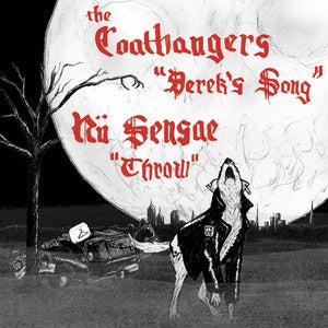 "Image of The Coathangers & Nü Sensae, ""Derek's Song"" 7"""