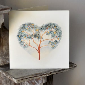 Image of Card ~ Tree Heart