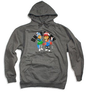 Image of Team Zamunda P/O Hoodie | dark grey heather
