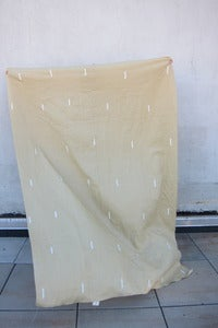 "Image of Linen Throw--""Bali nights beige"""