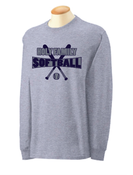 Image of Softball Long Sleeve Tee