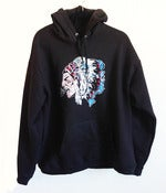 Image of American Warrior Black Hoodie 