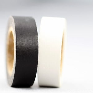 Image of Matte White + Black Washi Tape