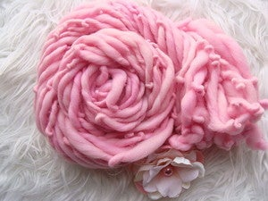 Image of Handspun Merino Yarn - Carnation Pinks
