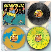 "Image of DK032: Gnarwolves - Fun Club 2x7"" EP In Gatefold Cover - SOLD OUT - 2nd Press - Autumn 2013"