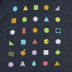 Image of Geometric Shapes T-Shirt