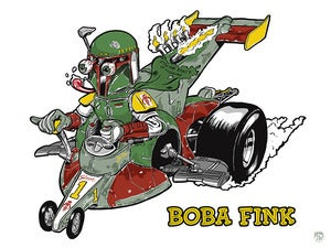 Image of Boba Fink Print