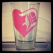 Image of Detroit Love Pint Glass