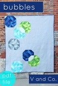 Image of bubbles quilt pattern-PDF