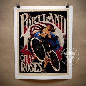 Image of City of Roses - Art Print