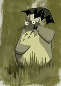 Image of &quot;Totoro&quot; print