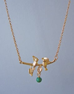 Image of Sing A Song For Me Bird Necklace