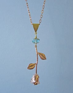 Image of Rose To The Occasion Necklace