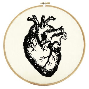 Image of Anatomical Heart PDF Pattern