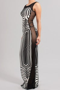 Image of Selena Mesh  Maxi