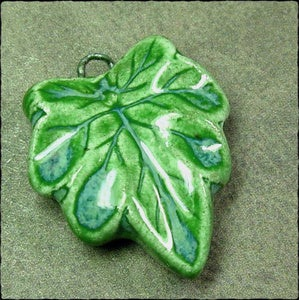 Image of Veined Leaf Pendant