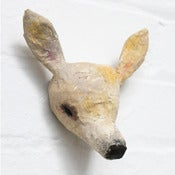 Image of Paper Mâché Head - DEER