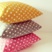 Image of Polka dot cushions