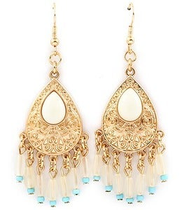 Image of TEAR DROP EARRINGS
