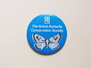 Image of Blue Butterfly Badge
