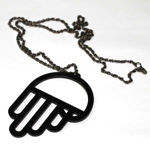 Image of PFX Khamsa Pendant and Chain