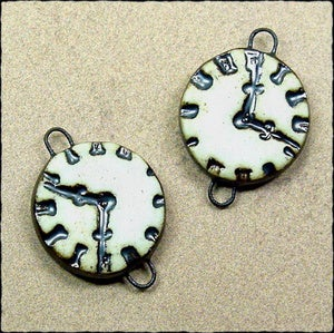 Image of Clock Face Link Pair