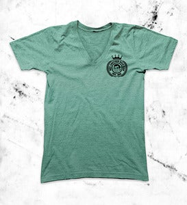 Image of Crest V-Neck Mint