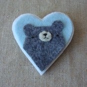 Image of pudgy bear heart