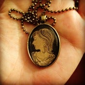 Image of Handmade Cameo Necklace