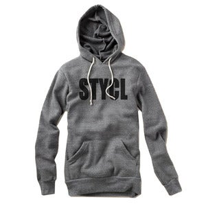 Image of STYCL Hoody Grey & Black