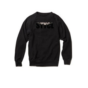 Image of STYCL Sweatshirt Black on Black (Limited Edition)