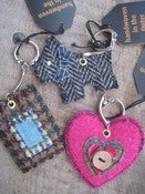 Image of Harris Tweed Keyrings