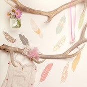 Image of Floating Feathers Wall Decals