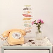 Image of Mini Floating Feathers Wall Decals