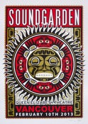 Image of SOLD OUT - Soundgarden - Vancouver - Silkscreen Poster - Artist's Edition